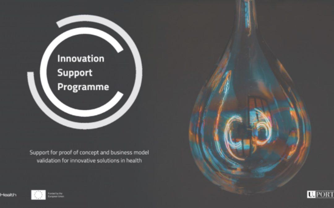 Innovation Support Programme – Concurso aberto