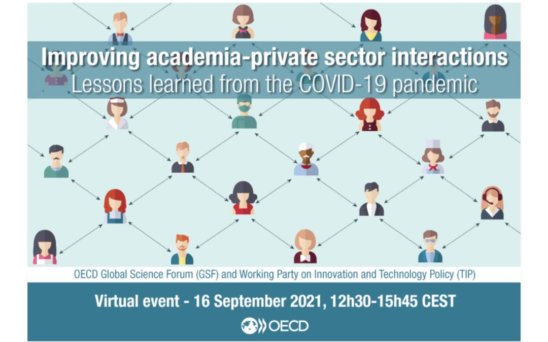 Online workshop – Improving academia-private sector interactions: lessons learned from the COVID-19 pandemic