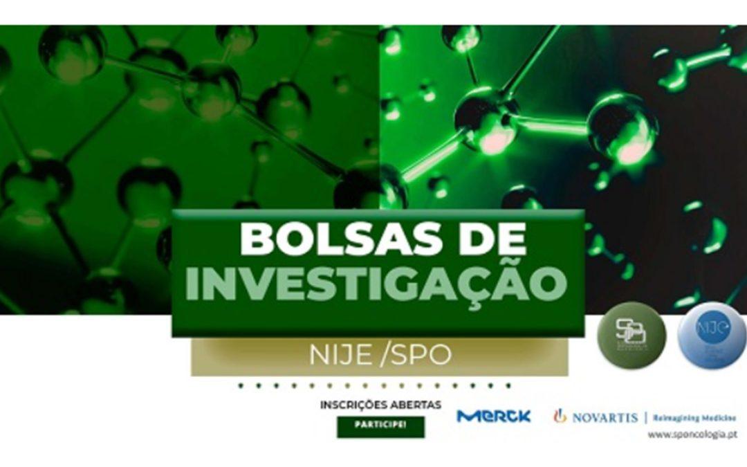 Bolsas de Investigação Núcleo de Internos e Jovens Especialistas da Sociedade Portuguesa de Oncologia 2021
